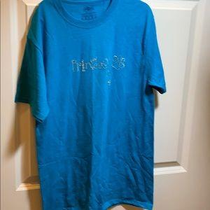 Blue princess t-shirt rhinestone